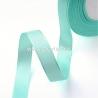 Satino juostelė, žalsvai mėlyna, 10 mm, 1 m