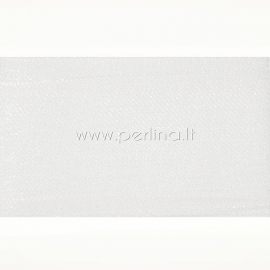Organzos juostelė, balta sp., 50 mm, 45,72 m