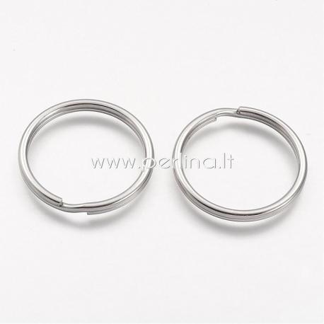 Raktų žiedas, platinos sp., 25x2.5mm