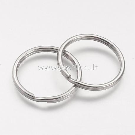 Raktų žiedas, nerūdijantis plienas, 32x3mm