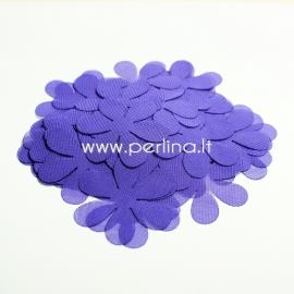 Fabric flower, indigo, 1 pc, select size