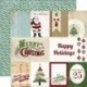 """Popierius """"Christmas Journaling Cards"""", 30,5x30,5 cm"""