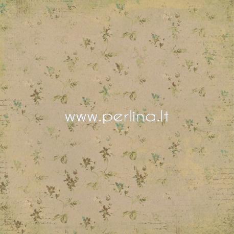 "Popierius ""Life Stories - Happiness Meter - Day 202"", 30,5x30,5 cm"