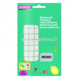 STANGER Adhesive pads, 54 pads/50g