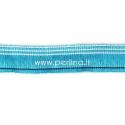 Poliesterio juostelė, žydra sp., 25 mm, 10 cm