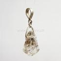 Natūralus Herkimerio deimantas, pakabukas, 35x16x5 mm, 1 vnt