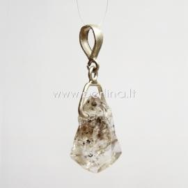 Natural Herkimer Diamond, 35x16x5 mm, 1 pc