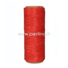 Poliesterio virvelė, raudona, 1 mm, 1 m