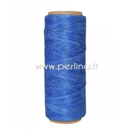 Poliesterio virvelė, rugiagėlių mėlyna sp., 1 mm, 1 m