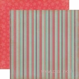 """Popierius """"Silly Stripes"""", 30,5x30,5 cm"""