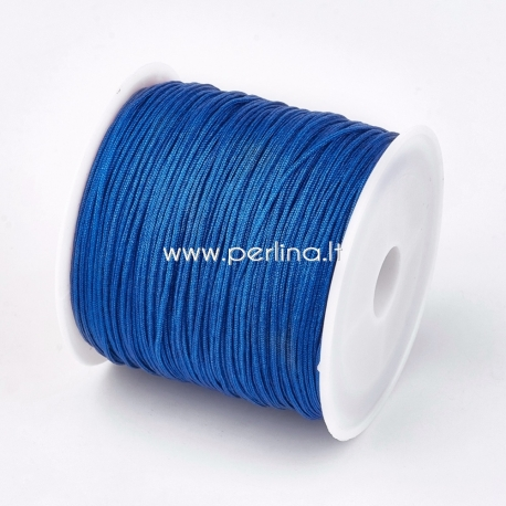Nailono virvelė, mėlyna sp., 0,8 mm, 1 m