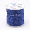Nailono virvelė, karališka mėlyna sp., 1 mm, 1 m