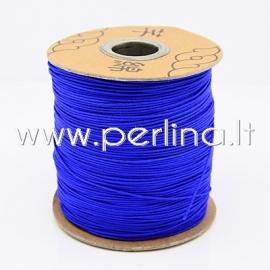 Nailono virvelė, rugiagėlių mėlyna sp., 1 mm, 1 m