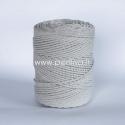 Sukta medvilninė virvė, natūrali sp., 3 mm, 410 m