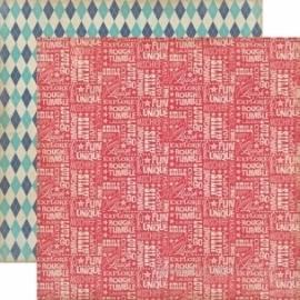 "Popierius ""Wild Words"", 30,5x30,5 cm"