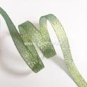 Organzos juostelė, blizgi žalia sp., 9 mm, 1 m