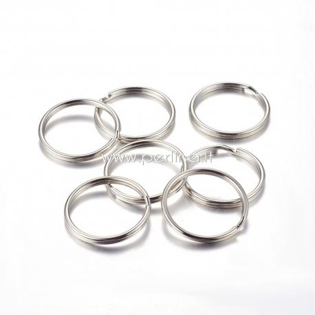 Raktų žiedas, platinos sp., 30x3mm