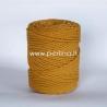 Sukta medvilninė virvė, garstyčių sp., 3 mm, 240 m