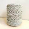 Sukta medvilninė virvė, blyški mėtinė sp., 3 mm, 260 m