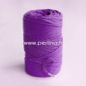 Pasukta medvilninė virvė, violetinė sp., 3 mm, 140 m