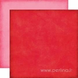 "Popierius ""Red Pink"", 30,5x30,5 cm"
