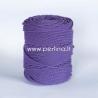 Sukta medvilninė virvė, violetinė sp., 3 mm, 260 m