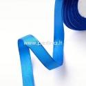 Satino juostelė, karališka mėlyna, 6 mm, 1 m