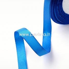Satin ribbon, royal blue, 6 mm, 1 m