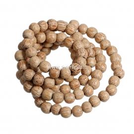Kokoso karoliukas, šv.ruda sp., 8-9 mm, 1 vnt.