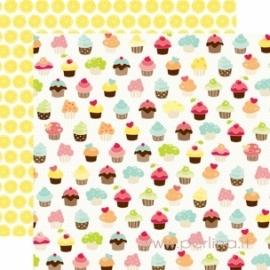 """Popierius """"Picnic Cupcakes"""", 30,5x30,5 cm"""