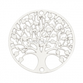 "Sujungėjas ""Gyvybės medis"", sidabro sp., 20 mm, 1 vnt."