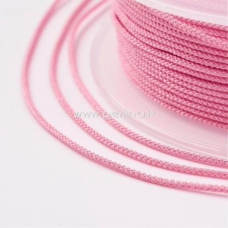 Pinta nailono virvelė, rožinė sp., 1,5 mm, 1 ritė/12 m