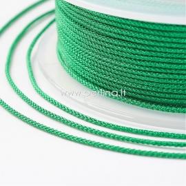 Braided nylon thread, green, 1,5 mm, 1 roll/12 m