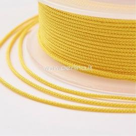 Pinta nailono virvelė, geltona sp., 1,5 mm, 1 ritė/12 m