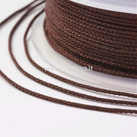 Pinta nailono virvelė, kokoso ruda sp., 1,5 mm, 1 ritė/12 m