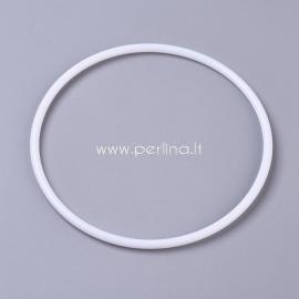 Plastikinis žiedas, 14,3cm x 5,5mm