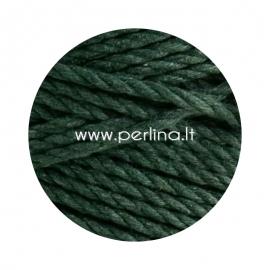 Sukta medvilninė virvė, samanų žalia sp., 4 mm, 160 m