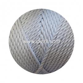 Sukta medvilninė virvė, žydra sp., 3 mm, 260 m