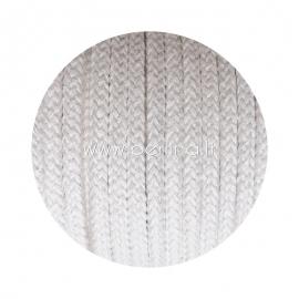 Pinta medvilninė virvė, natūrali sp., 6 mm, 160 m