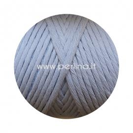 Pasukta medvilninė virvė, žydra sp., 3 mm, 140 m