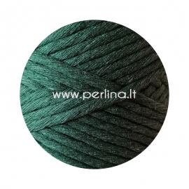 Pasukta medvilninė virvė, samanų žalia sp., 3 mm, 140 m
