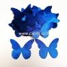 Medžiaginis drugelis, karališka mėlyna sp., 1 vnt., dydis pasirenkamas
