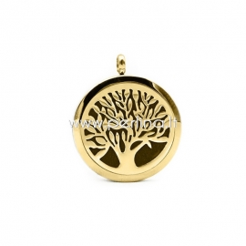 """Aromaterapinis pakabukas """"Gyvenimo medis"""", aukso sp., 30 mm, 1 vnt."""