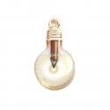 """Pakabukas """"Pieštukas lemputėje"""", aukso sp., 22x12 mm"""