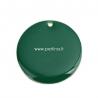 """Pakabukas """"Apskritimas"""", tamsiai žalia, paauksuota, 25 mm"""