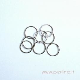 Nikelio sp. žiedelis, 9 mm, 10 vnt