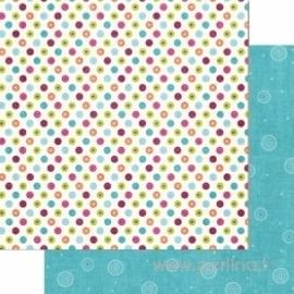 """Popierius """"Merry Dots"""", 30,5x30,5 cm"""