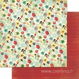 """Popierius """"Beautiful Grace"""", 30,5x30,5 cm"""