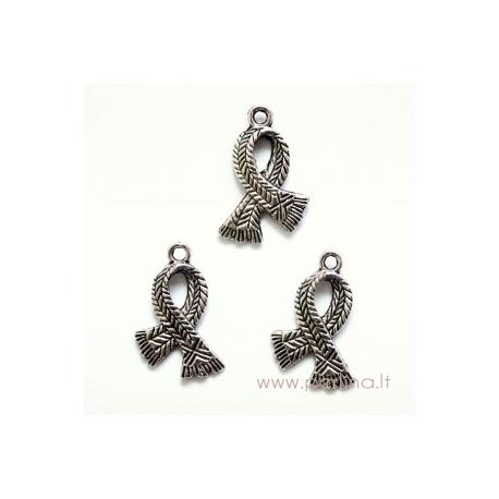 """Tibeto sidabro pakabukas """"Šalikas"""", 23x16 mm"""