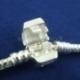 """Pandora stiliaus apyrankė """"Love"""", pasidabruota, 20 cm x 3 mm"""